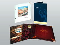 Ideal for books, photo books, menus, brochures and corporate profiles