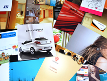 Make sure your brand reflects quality in all its print collateral such as brochures, flyers, folders, CD wallets and invites.