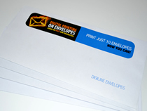 Print as little or as many as you need, with unique personalisation and mail merge possibilities.